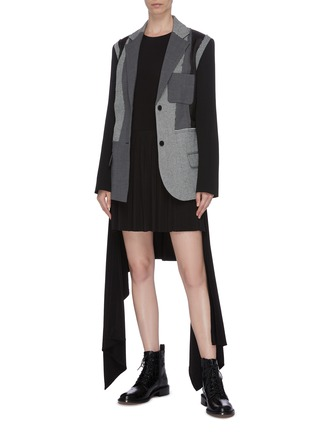 Figure View - Click To Enlarge - JW ANDERSON - Drape dress