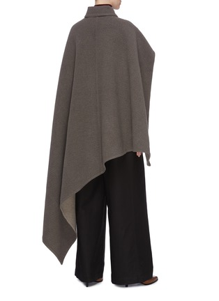 Back View - Click To Enlarge - JW ANDERSON - Cross wrap belted cape