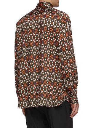Back View - Click To Enlarge - JOSEPH - Geometric print shirt
