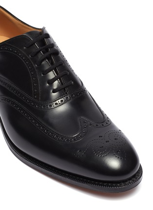 Detail View - Click To Enlarge - CHURCH'S - 'Berlin' leather brogue Oxfords