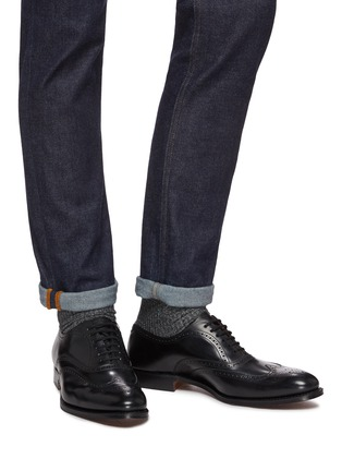 Figure View - Click To Enlarge - CHURCH'S - 'Berlin' leather brogue Oxfords
