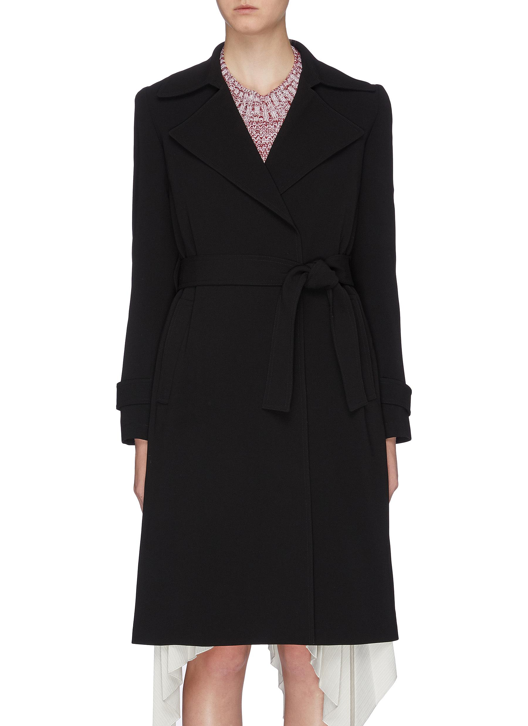 Belted trench coat by Theory