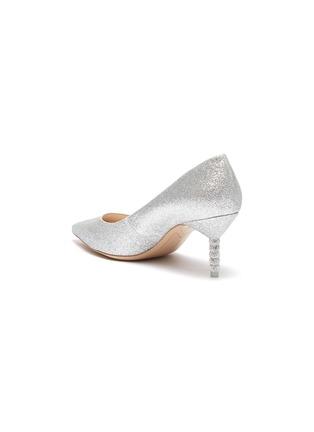 - SOPHIA WEBSTER - 'Coco' crystal pavé bead heel glitter pumps