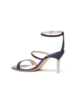- SOPHIA WEBSTER - 'Rosalind' crystal pavé bead heel sandals