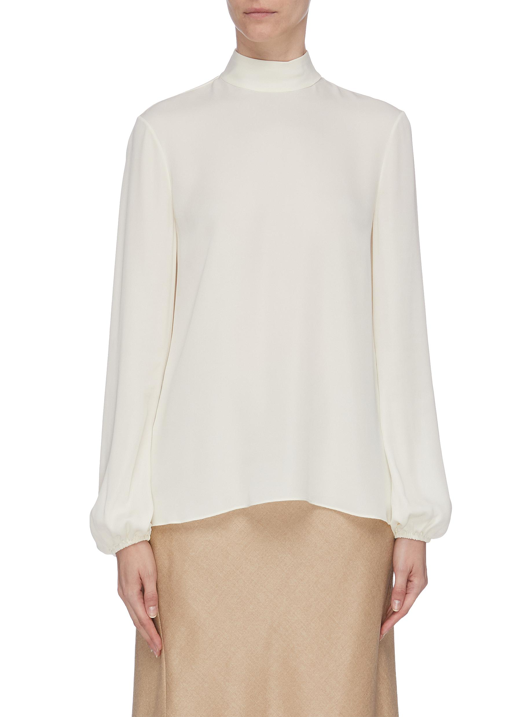 Bell sleeve top by Theory
