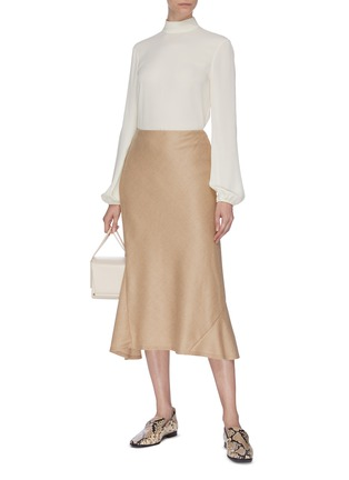 Figure View - Click To Enlarge - THEORY - Wool skirt