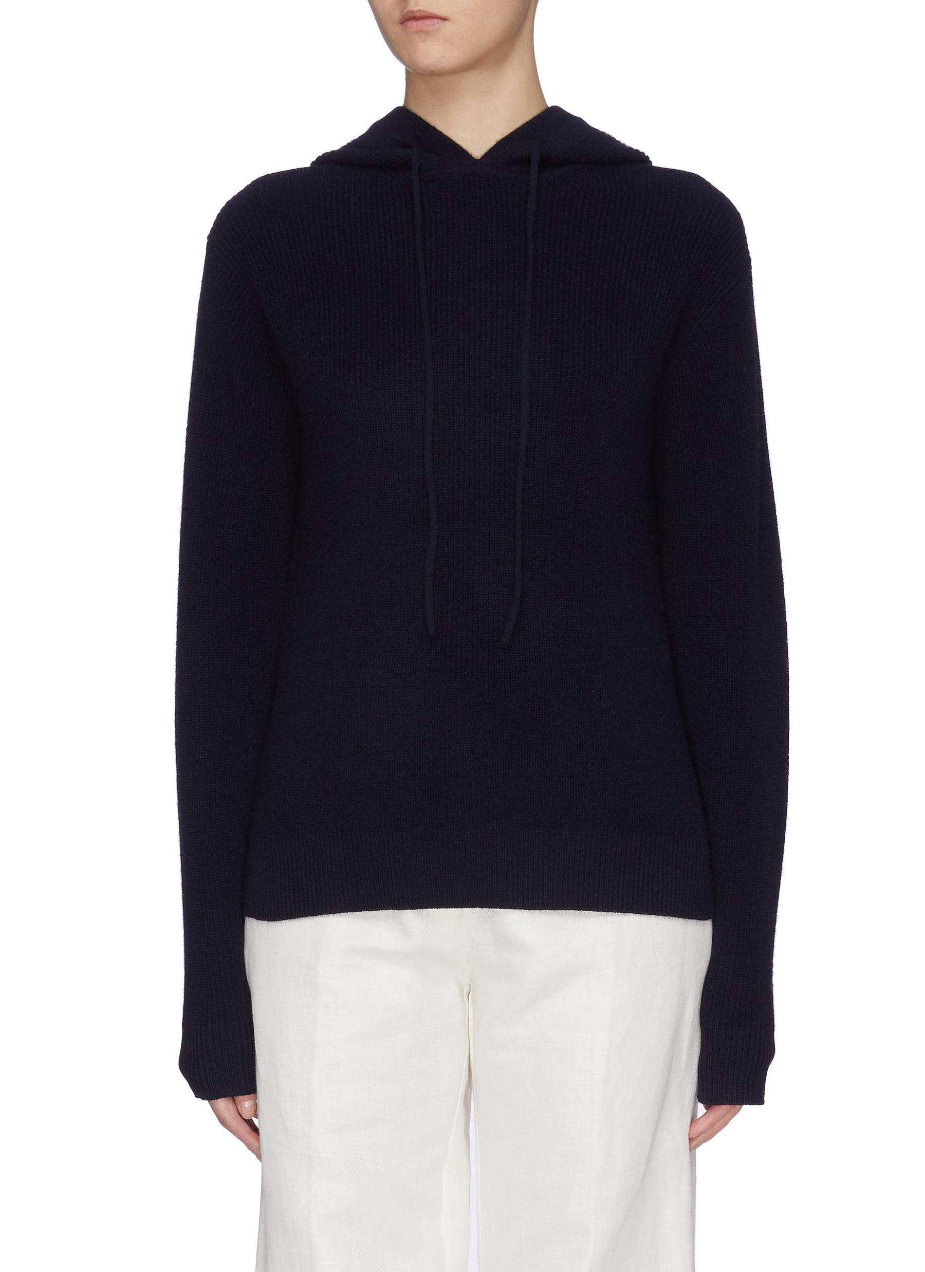 Cashmere knit hoodie by Theory
