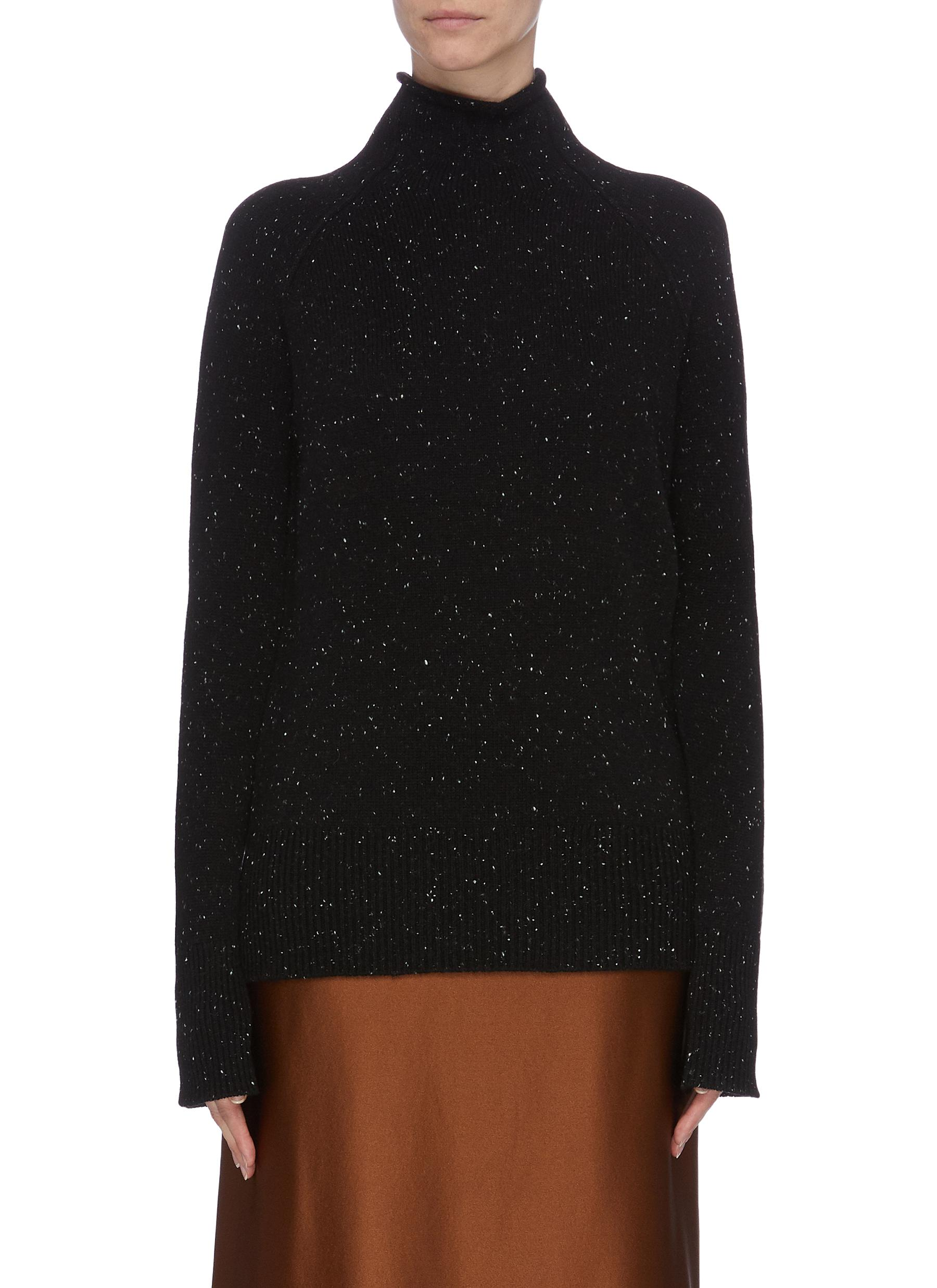 Karinella speckled turtleneck sweater by Theory