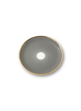 Main View - Click To Enlarge - BETHAN GRAY - Lustre Stripe dinner plate