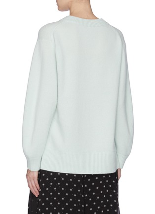 Back View - Click To Enlarge - VINCE - Cashmere tunic top