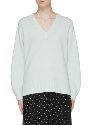 Main View - Click To Enlarge - VINCE - Cashmere tunic top