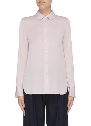 Main View - Click To Enlarge - VINCE - Silk satin shirt