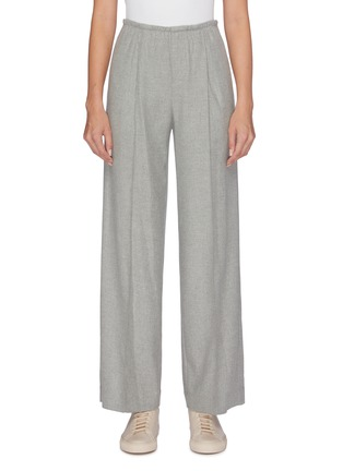 Main View - Click To Enlarge - VINCE - Flannel wide leg pants