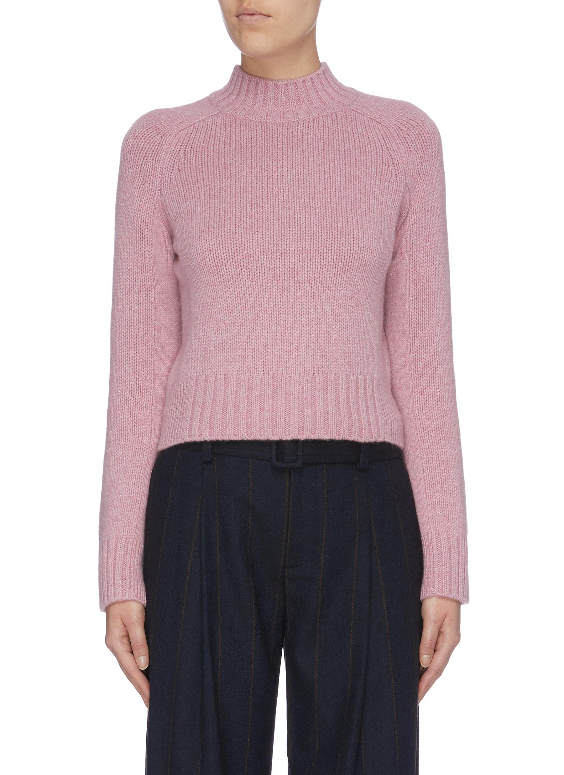 Cashmere mock neck sweater by Vince