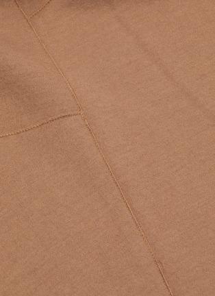 - VINCE - Wool-blend midi skirt