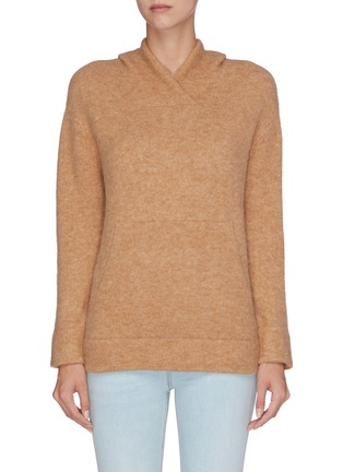 Main View - Click To Enlarge - VINCE - Knit hoodie