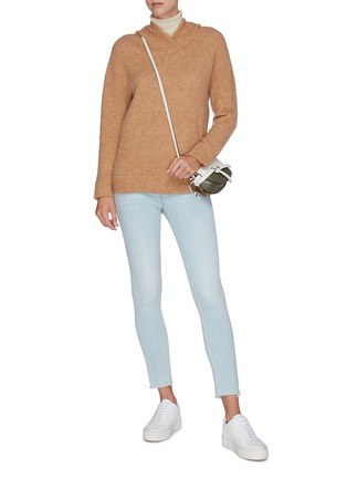 Figure View - Click To Enlarge - VINCE - Knit hoodie