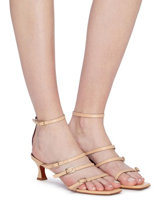 Figure View - Click To Enlarge - MANU ATELIER - 'Naomi' strappy leather sandals