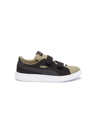 save off 8face f3689 'Smash v2 Monster' faux suede kids sneakers