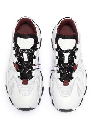 Detail View - Click To Enlarge - ASH - 'Extreme' chunky outsole leather sneakers