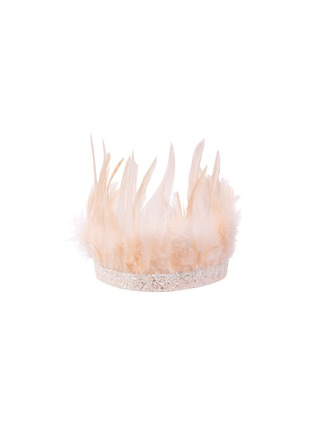 Main View - Click To Enlarge - MERI MERI - Feather crown