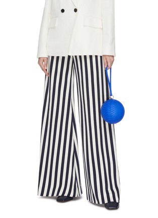Figure View - Click To Enlarge - GELAREH MIZRAHI - Python leather sphere clutch