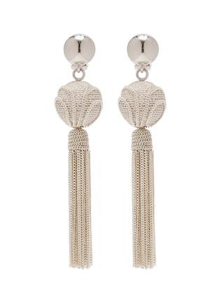 Main View - Click To Enlarge - OSCAR DE LA RENTA - 'Runway' chain tassel earrings