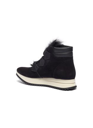 - PEDRO GARCÍA - 'Olaf' faux fur suede sneaker boots
