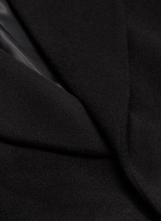 - SOLID HOMME - Belted wool-cashmere melton coat