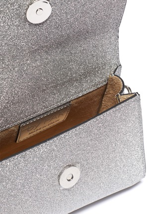 Detail View - Click To Enlarge - BY FAR - Mini glitter top handle tote