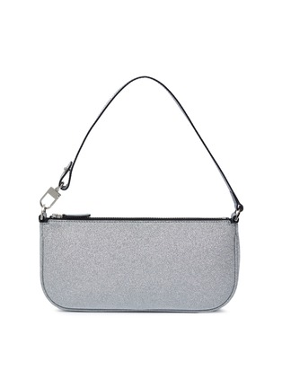 Main View - Click To Enlarge - BY FAR - 'Rachel' glitter shoulder bag