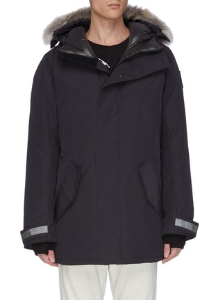 Main View - Click To Enlarge - CANADA GOOSE - 'Edgewood' coyote fur hooded down parka