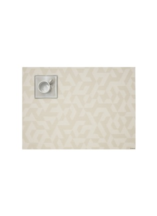 Main View - Click To Enlarge - CHILEWICH - Prism placemat – Natural