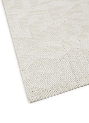 Detail View - Click To Enlarge - CHILEWICH - Prism floor mat – Natural