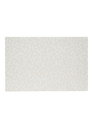 Main View - Click To Enlarge - CHILEWICH - Prism floor mat – Natural