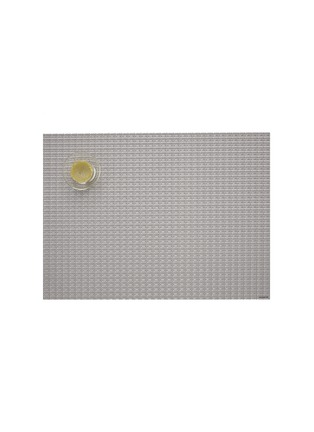 Main View - Click To Enlarge - CHILEWICH - Trellis placemat – Silver
