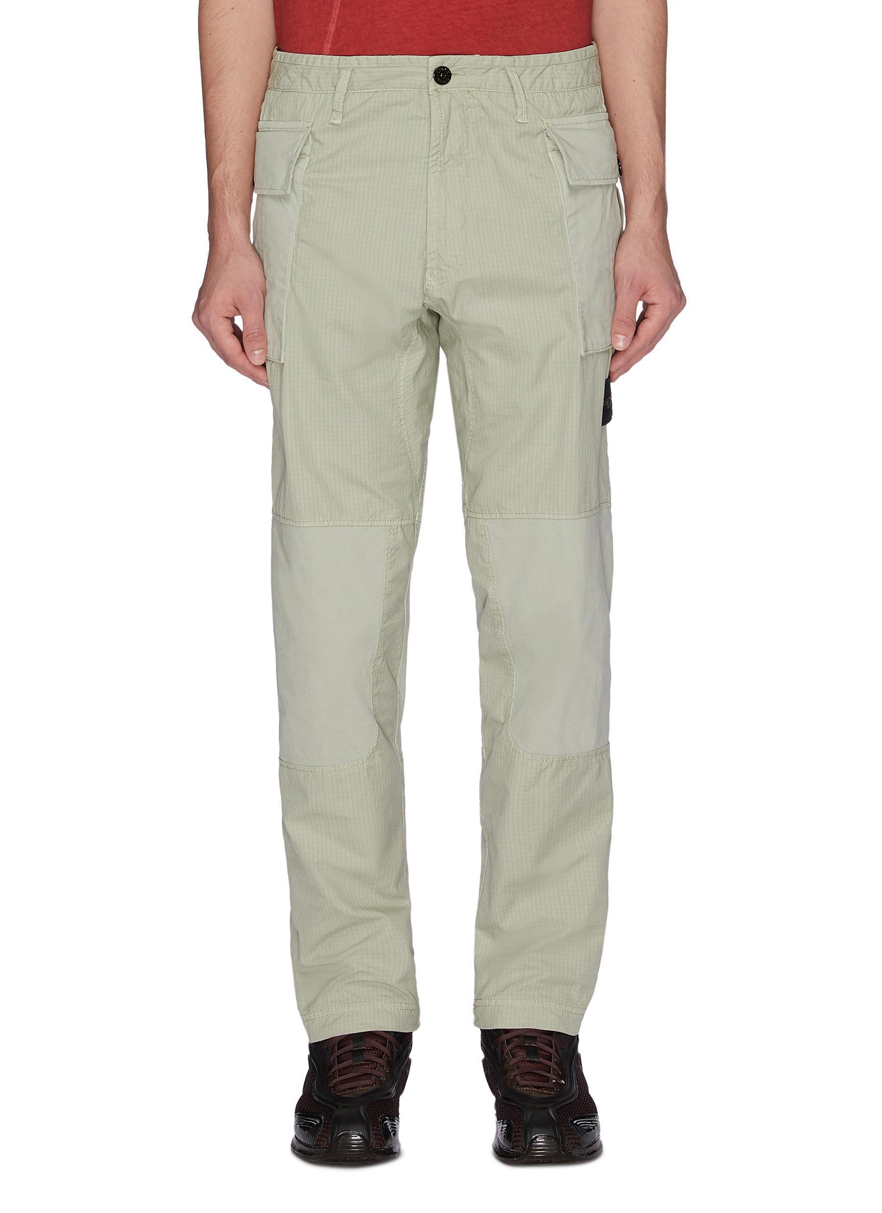 Stone Island Pants 'Ripstop' cargo pants