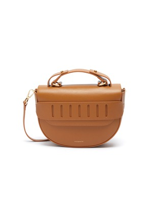 Main View - Click To Enlarge - PANNYY - 'The Betula Boat' leather bag