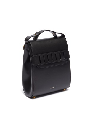 - PANNYY - 'The Adler' tie mini leather backpack