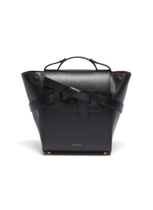 Main View - Click To Enlarge - PANNYY - 'The Adler' tie mini leather backpack