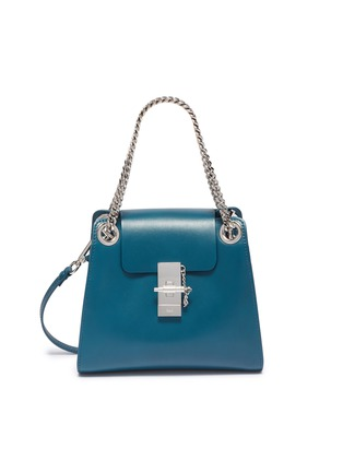 Main View - Click To Enlarge - CHLOÉ - 'Annie' mini leather shoulder bag