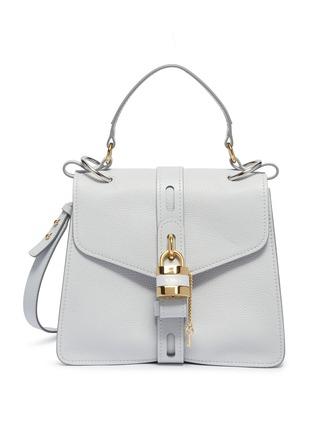 c1e83c6d95 'Aby Day' padlock key medium leather top handle bag