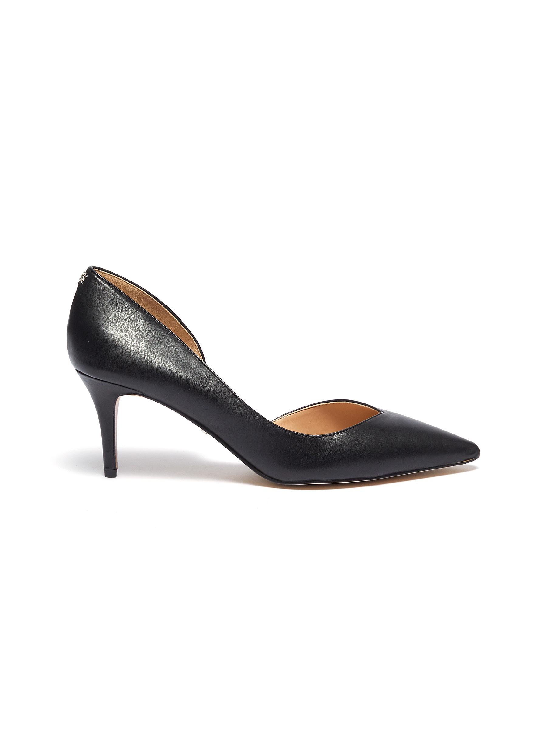Jari leather dOrsay pumps by Sam Edelman