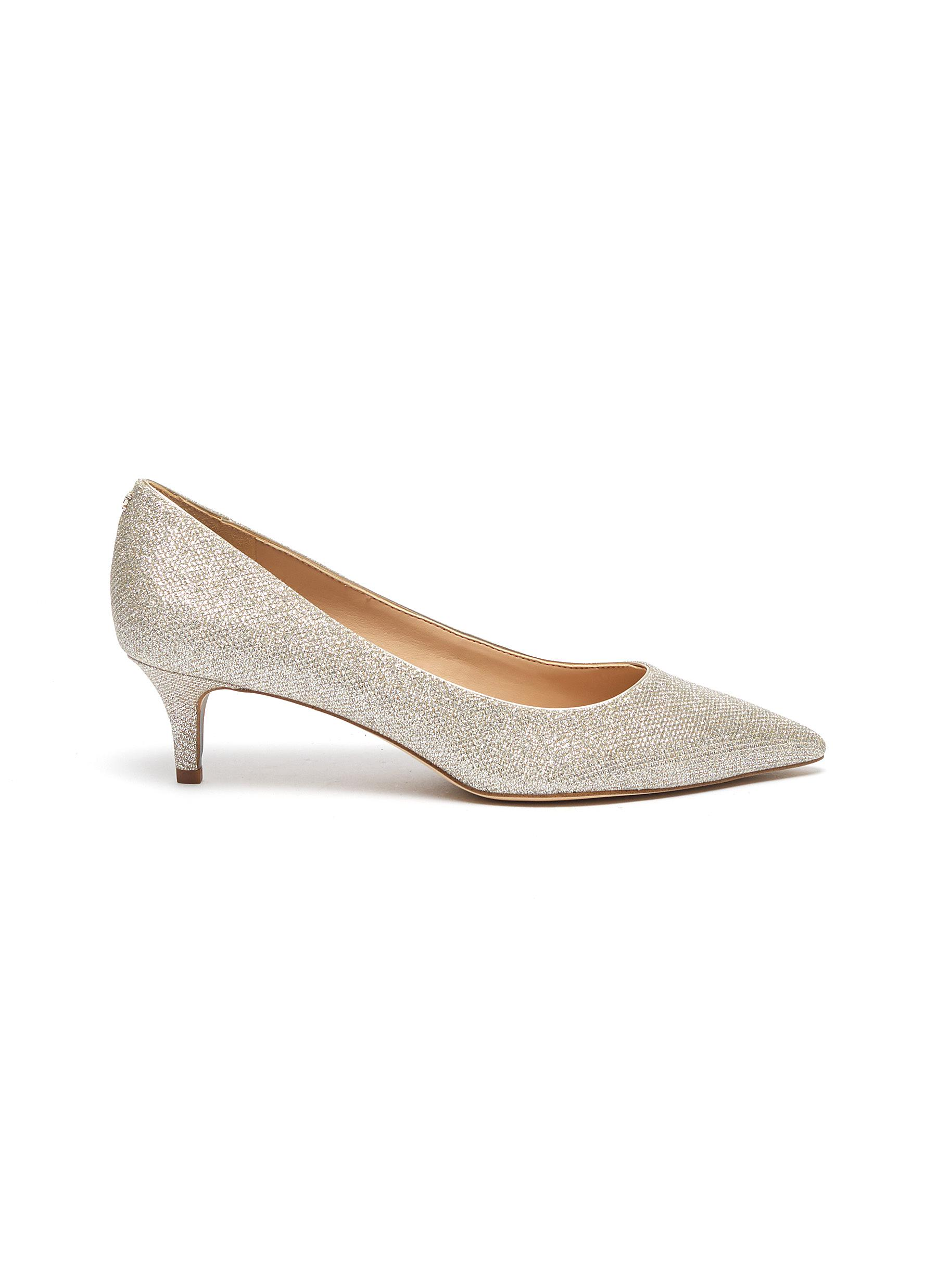 Dori glitter mesh pumps by Sam Edelman
