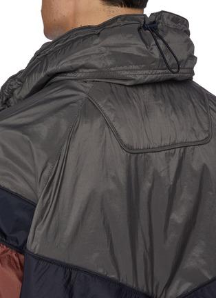 - JUUN.J - Detachable yoke colourblock track jacket