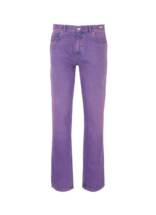 Main View - Click To Enlarge - MARTINE ROSE - Straight leg jeans