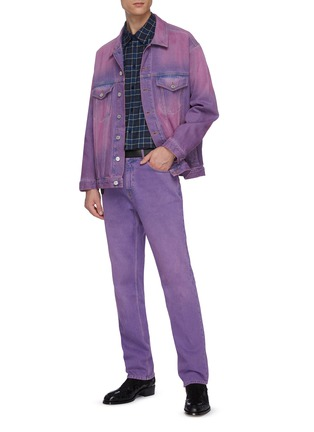 Figure View - Click To Enlarge - MARTINE ROSE - Straight leg jeans