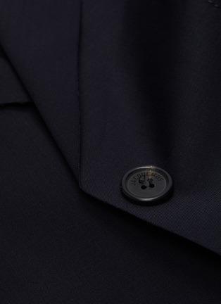 - JACQUEMUS - Contrast stitch button up blazer