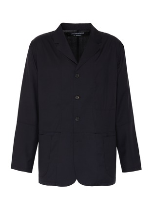 Main View - Click To Enlarge - JACQUEMUS - Contrast stitch button up blazer