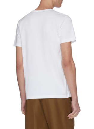 Back View - Click To Enlarge - JACQUEMUS - 'Le T-Shirt brodé' logo embroidered T-shirt